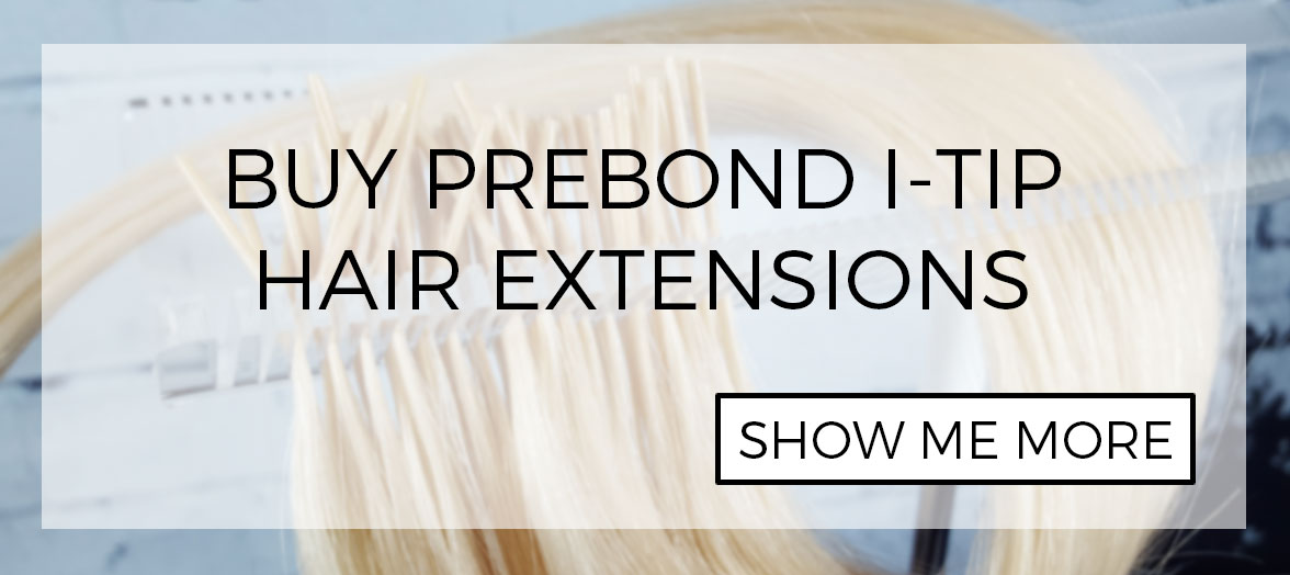Prebond Itip hair for Linkies microbead, Shrinkies and Fusion installation systems