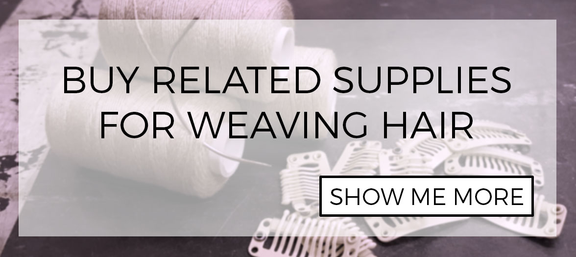 Related weaving hair installation supplies