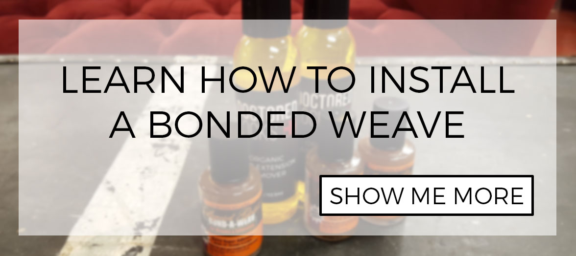 DIY: How to install bonded hair extensions