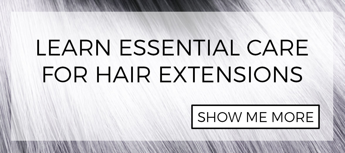 How to care for your tape-in hair extensions
