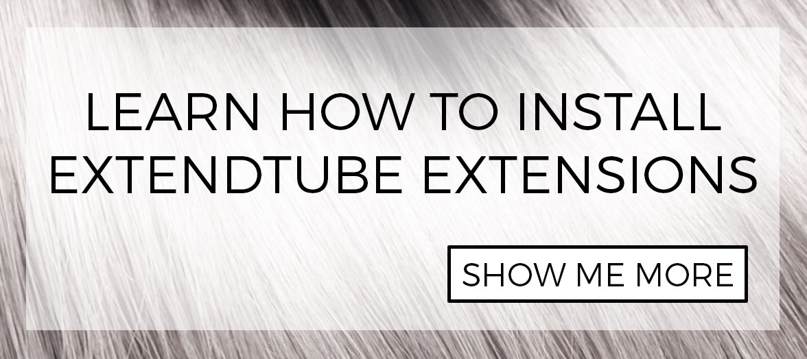 DIY: How to install extendtube hair extensions