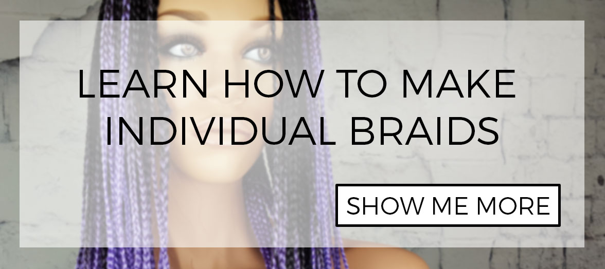 Tutorial: How to install individual box braids