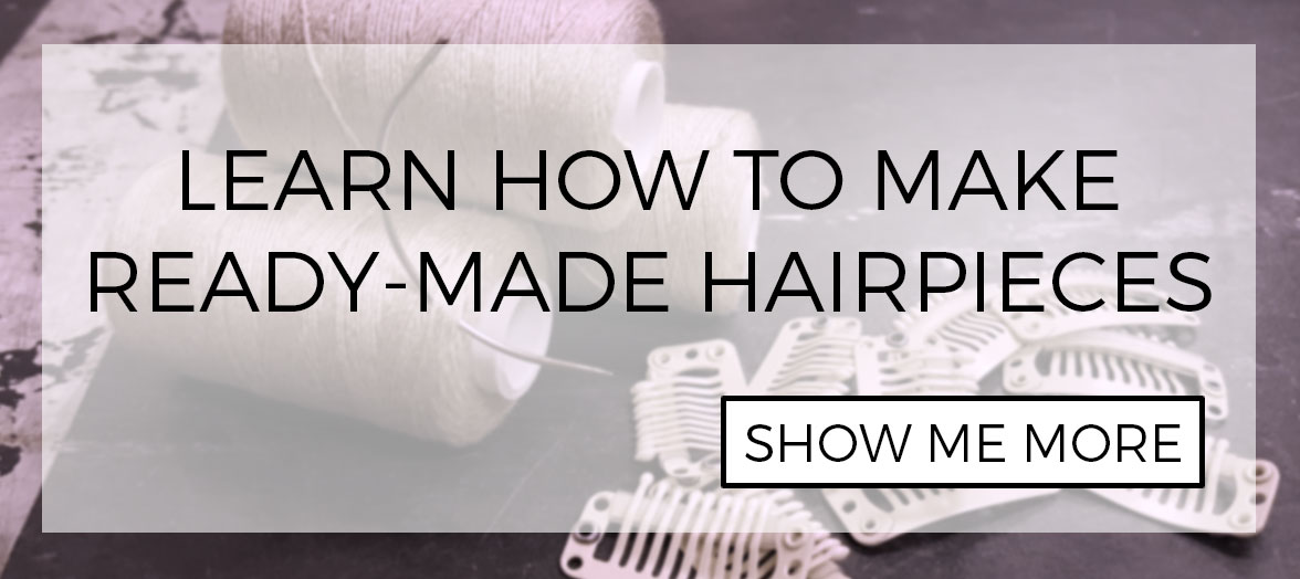DIY: How to make premade hairpieces