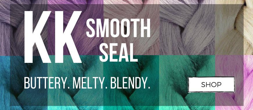 KK Smooth Seal - The ultimate braiding and dreadlocking fiber!