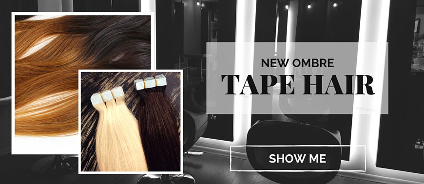 Easiest installation, highest quality hair that Tape Hair experts swear by.