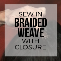 DIY: How to Create a Braided Weave with Full Coverage and Closure Piece