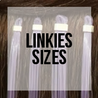 Linkies: Side by Side Comparison of Sizes for Installation