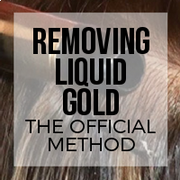 DIY: How to Remove Liquid Gold Hair Extension Adhesive (The Official Brand Method)