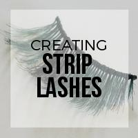 DIY: How to Create Strip Lashes with Braiding Fiber