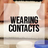 DIY: How to Put In Contact Lenses