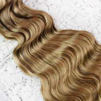 Beach Wave Hand Tied - One Weft |100% Human Hair