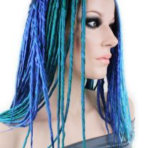 Premade Synthetic DE Dreadlocks | 10pk