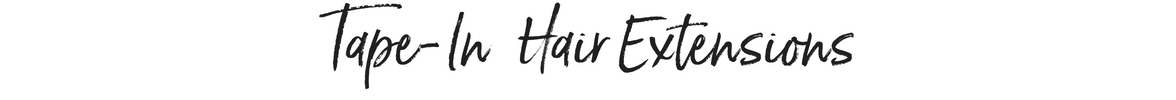 Tape-In style hair extensions - 100% human hair, remi quality