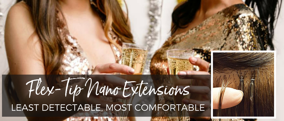 Learn more about Flex-Tip Nanos Hair Extensions