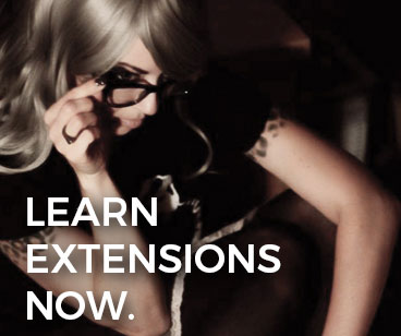 Hair extensions: free tutorials for stylists.